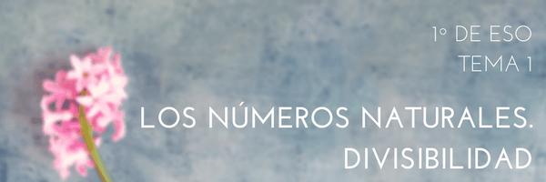 T01 – Los números naturales