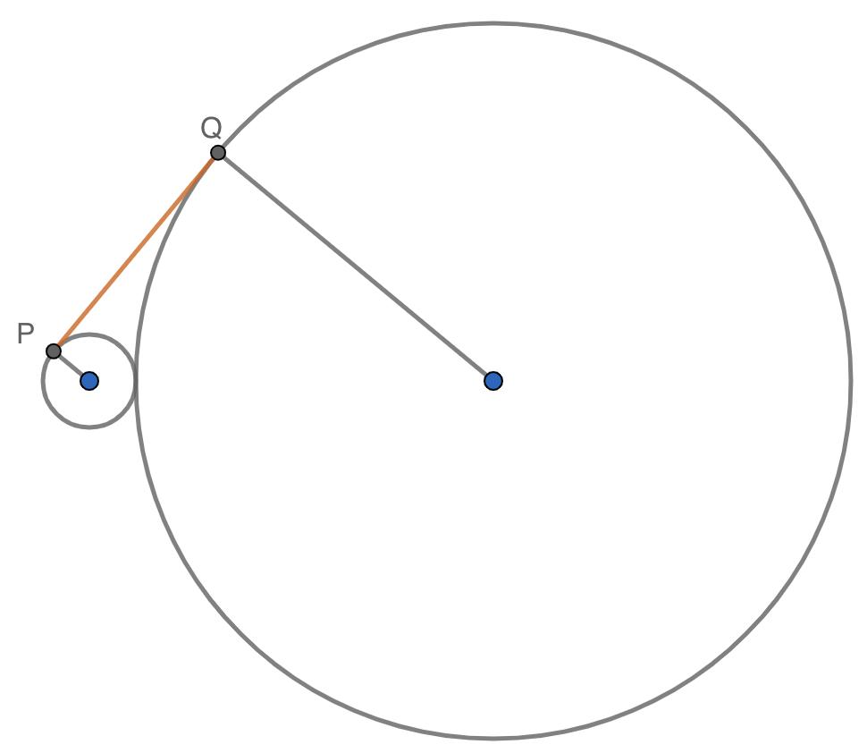 SM Savia Tema 13 - Ejercicio 120 con radios- Ejercicios resueltos del Teorema de Pitágoras