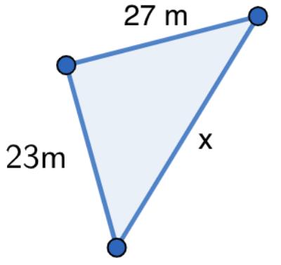 SM Savia Tema 13 - Ejercicio 61b - Teorema de Pitágoras