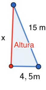 SM Savia Tema 13 - Ejercicio 63b - Teorema de Pitágoras