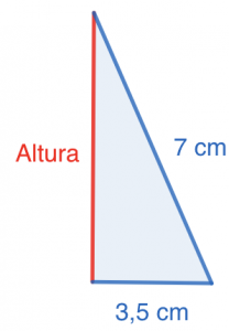 SM Savia Tema 13 - Ejercicio 64b - Teorema de Pitágoras