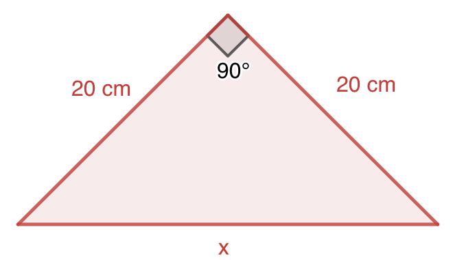 SM Savia Tema 9 - Ejercicio 19 - Ejercicios resueltos del Teorema de Pitágoras