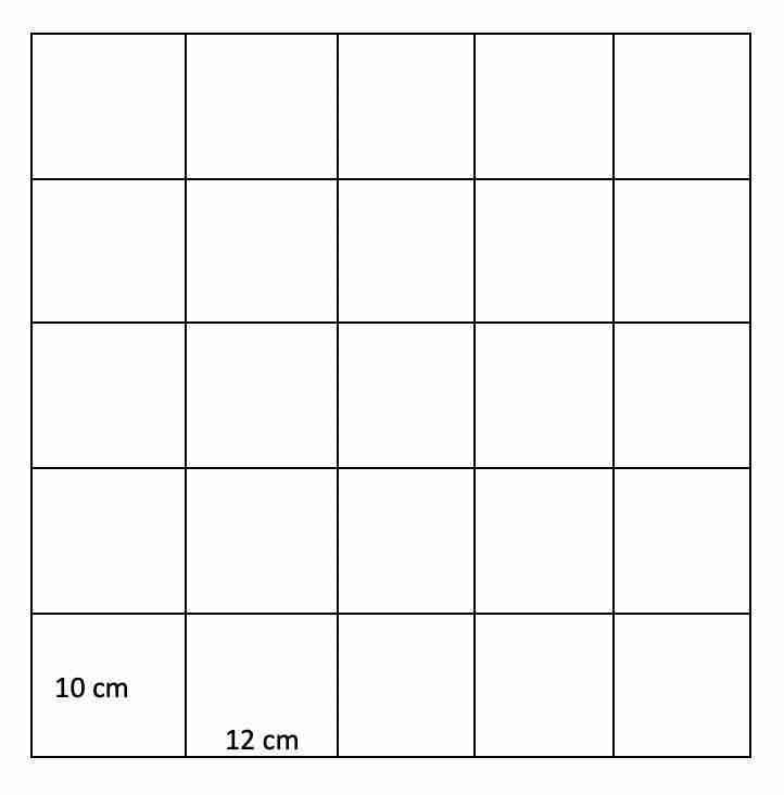 Problemas MCD - Mosaico cuadrado - SM Savia 1º de ESO - Matemáticas