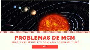 Planteas alineados - Problemas mcm - Matemáticas